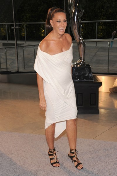 Designer Donna Karan attends 2013 CFDA Fashion Awards at Alice Tully Hall on June 3, 2013 in New York City. (Photo by Jamie McCarthy/Getty Images)