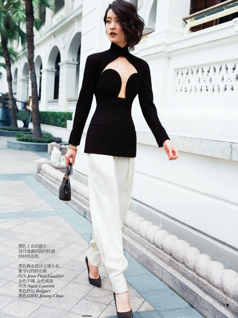 Du Juan by Jimmy Ming Shum for Vogue China Collections Summer 2013