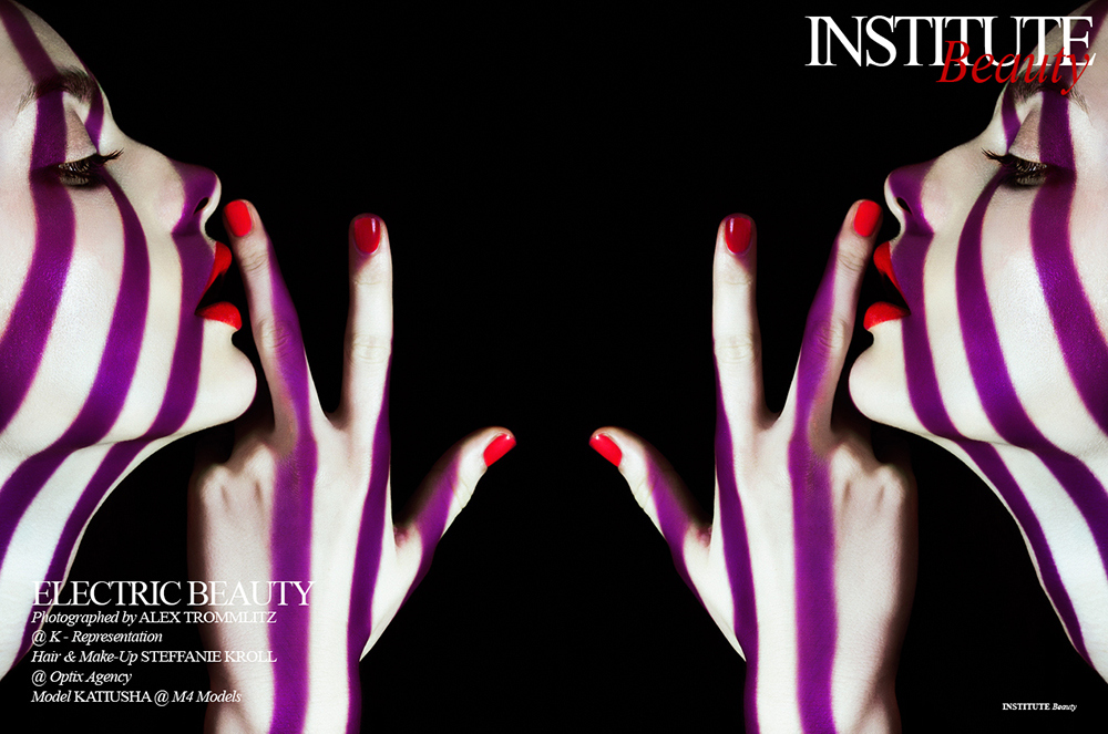 Electric Beauty by Alex Trommlitz for Institute Magazine