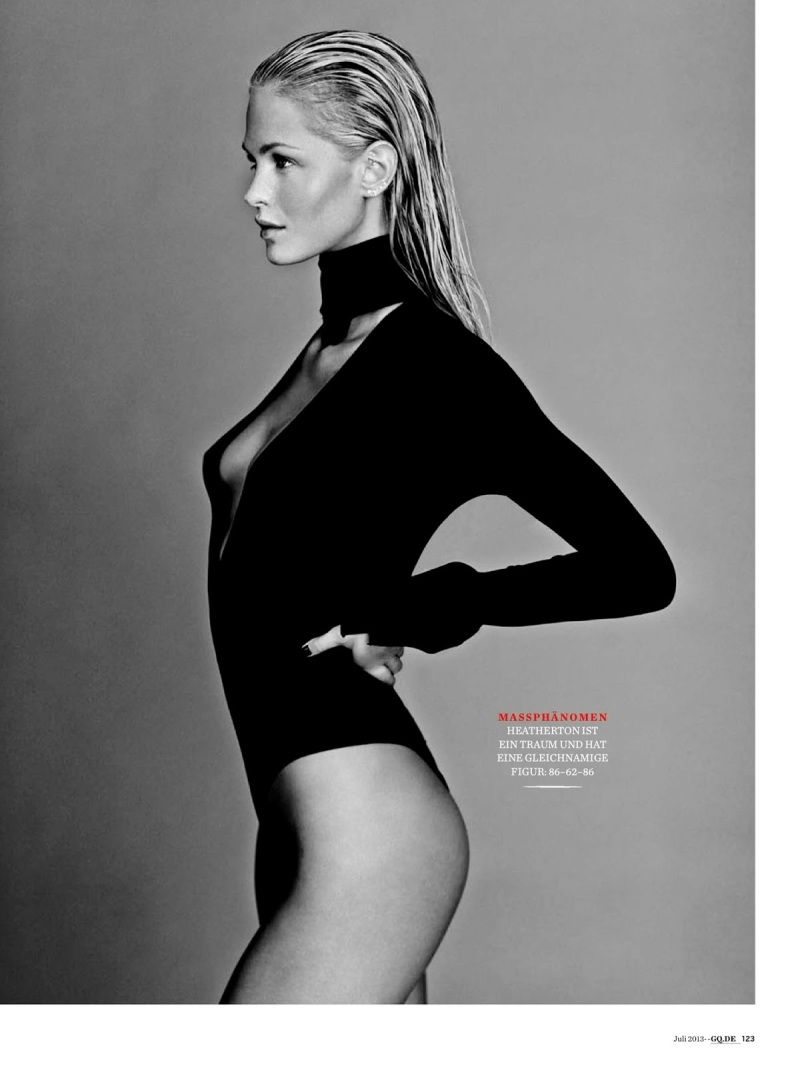 Erin Heatherton By Russell James For GQ Germany July 2013