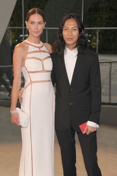 NEW YORK, NY - JUNE 03: Erin Wasson and designer Alexander Wang attend the 2013 CFDA Fashion Awards on June 3, 2013 in New York, United States. (Photo by Jamie McCarthy/Getty Images)