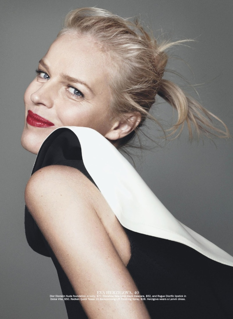 Eva Hezigova by David Sims for Vogue Australia July 2013