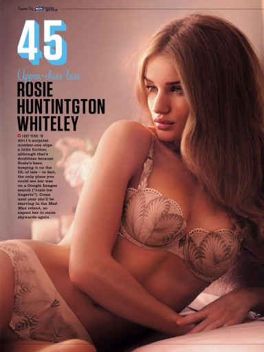FHM UK 100 Sexiest Women Of 2013