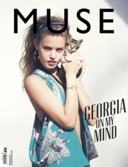 Georgia May Jagger by David Bellemere for Muse Summer 2013