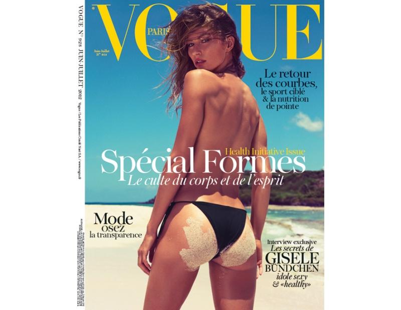 Gisele Bündchen by Inez & Vinoodh for Vogue Paris June:July 2012