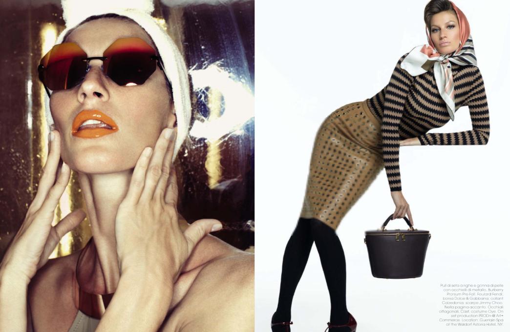 Gisele Bündchen by Steven Meisel for Vogue Italia June 2013