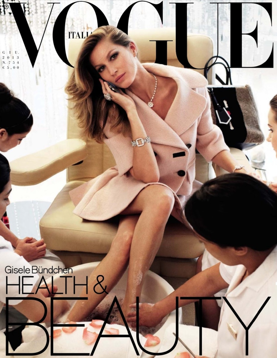 Gisele Bündchen by Steven Meisel for Vogue Italia June 2013
