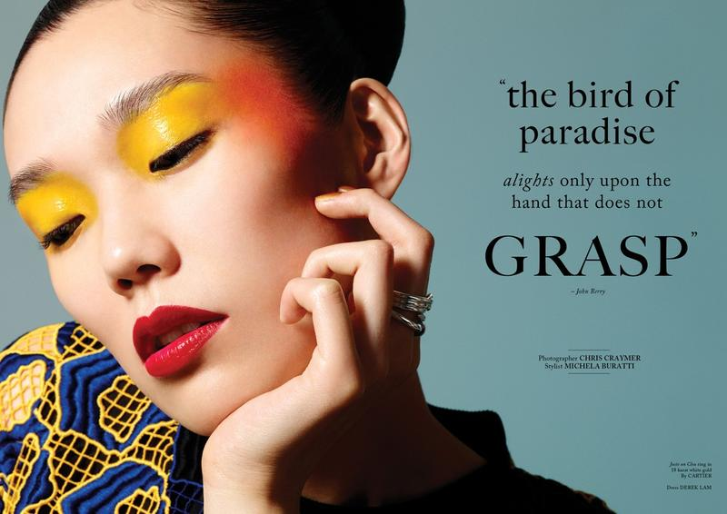 Glass Magazine June 2013 : The Bird Of Paradise