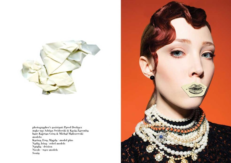 Hunger Magazine : Paper Part Of Me