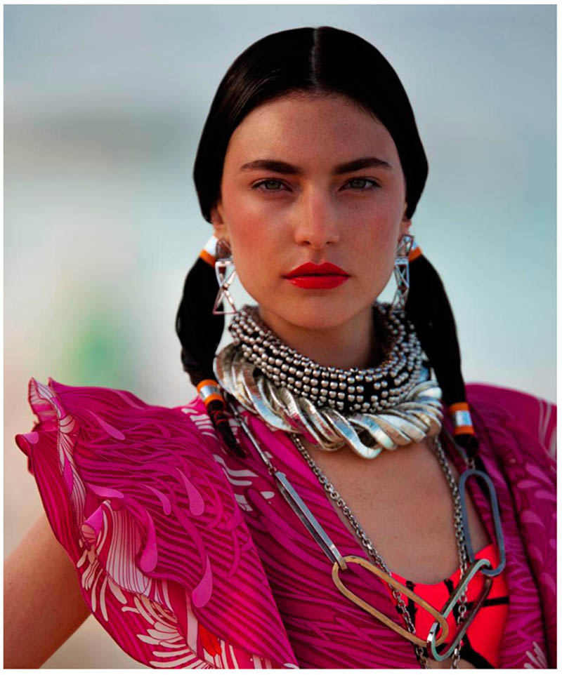 Jacquelyn Jablonski by Hans Feurer for Dujour Magazine June 2013