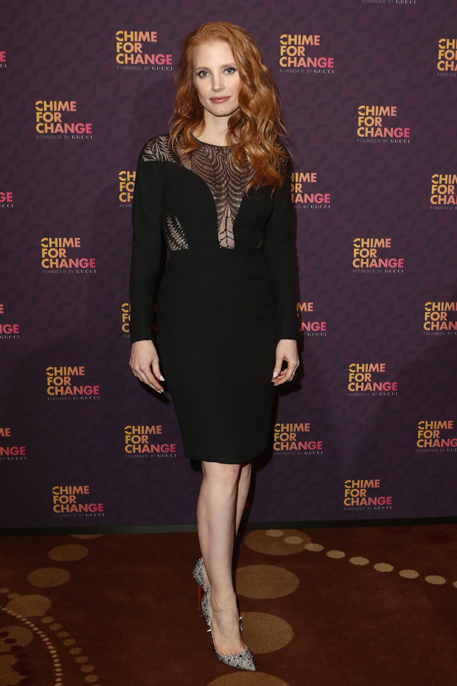 Jessica Chastain The Sound Of Change Live