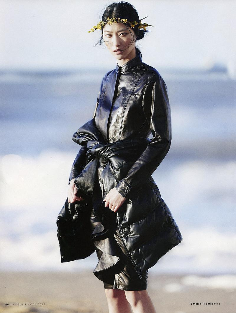 Ji Hye Park by Emma Tempest for Vogue Russia July 2013
