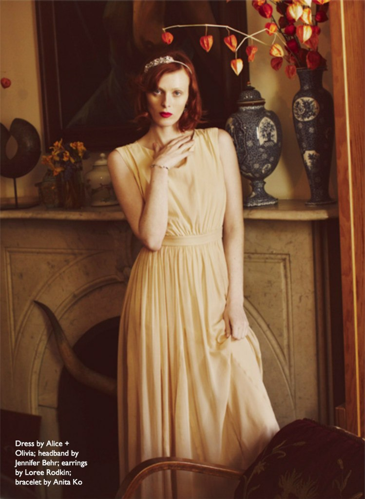 Karen Elson By Guy Aroch For The Edit 13th June 2013