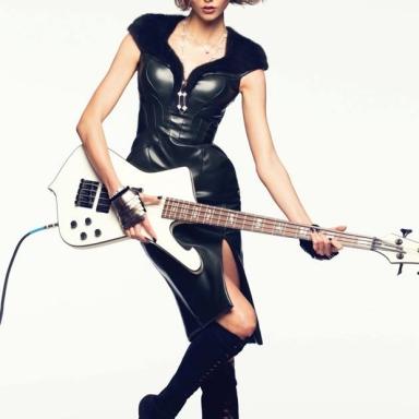 Karlie Kloss by David Bellemere for Vogue Thailand July 2013