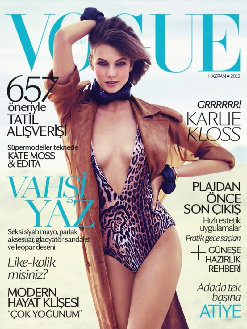 Karlie Kloss By Miguel Reveriego For Vogue Turkey June 2013
