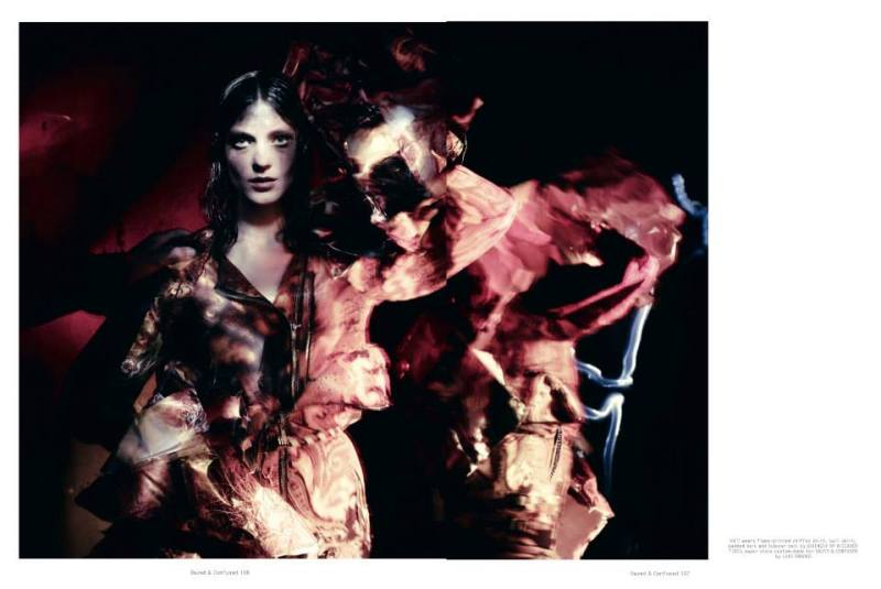 Kati Nescher, Marie Piovesan, Ondria Hardin & Vanessa Axente by Paolo Roversi for Dazed & Confused July 2013
