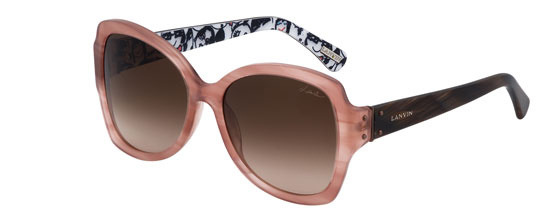 "Lanvin ""Les Visages "" Sunglasses Collection"