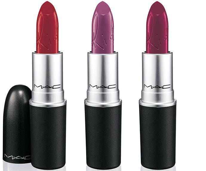 Lipstick in RiRi Woo, RiRi Boy, Heaux