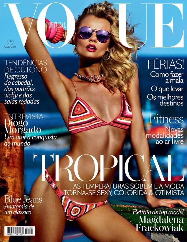 Magdalena Frackowiak by Giampaolo Sgura for Vogue Portugal July 2013