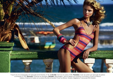 Magdalena Frackowiak by Giampaolo Sgura for Vogue Portugal July 2013