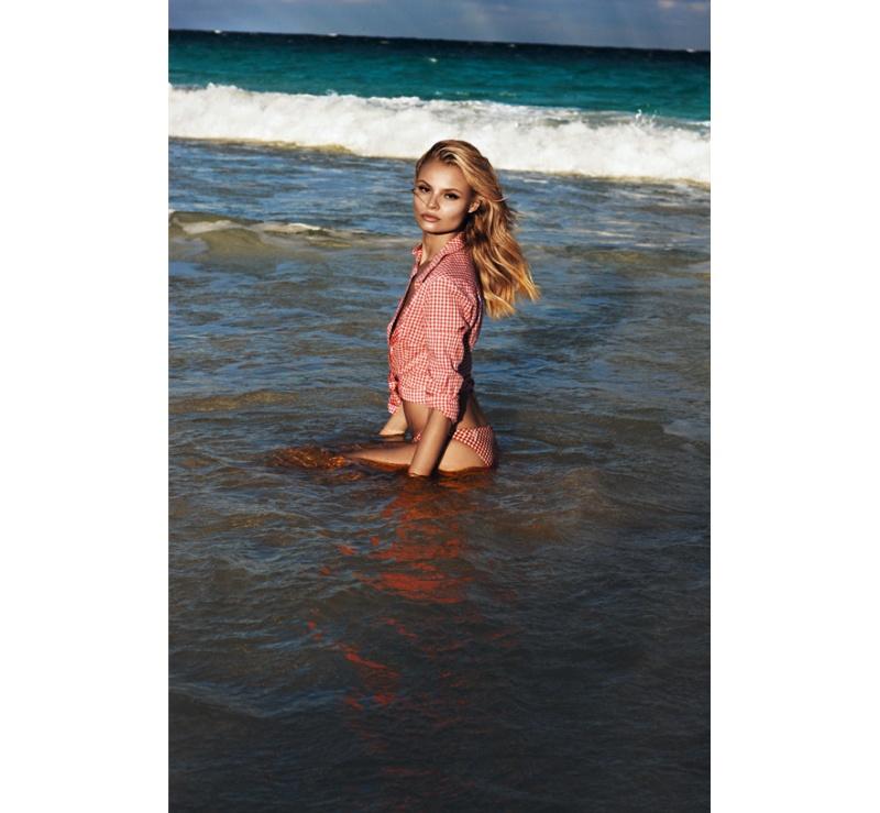 Magdalena Frackowiak by Lachlan Bailey for Vogue Paris April 2012
