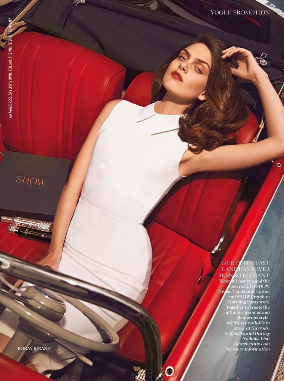 Maria Palm by Koray Birand for Vogue UK July 2013