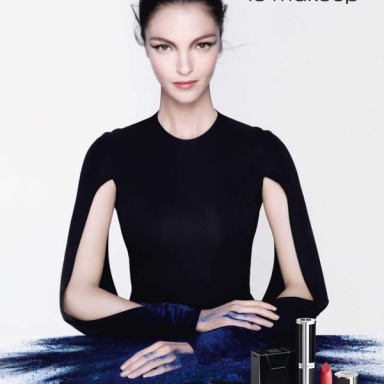 Mariacarla Boscono for Givenchy 'Le Makeup' Collection Ad Campaign