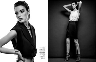 Marie Damian By Alex Gâlmeanu For Harper's Bazaar Romania June 2013