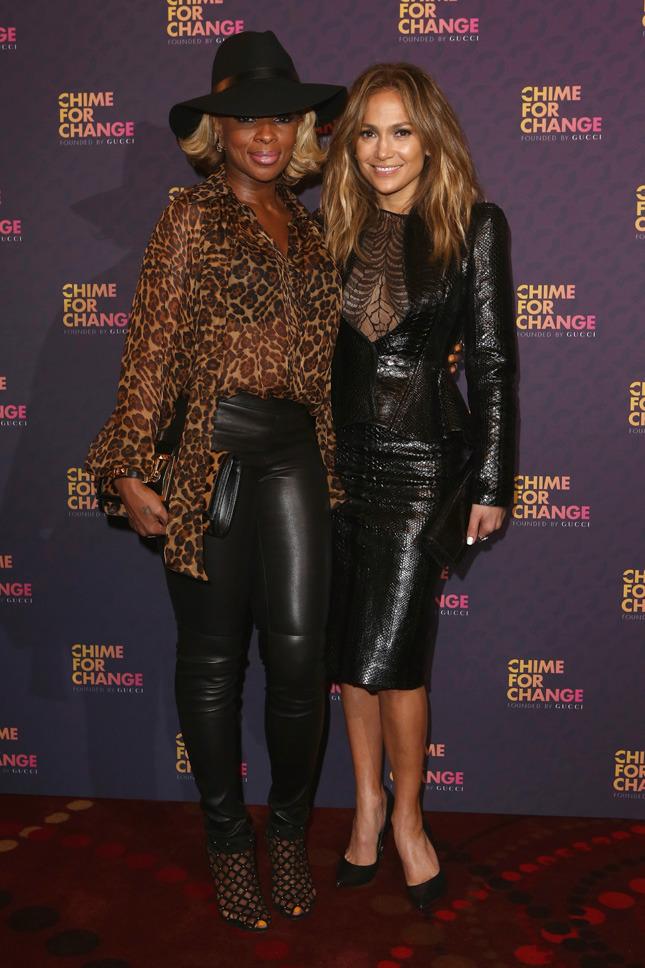 Mary J. Blige and Jennifer Lopez