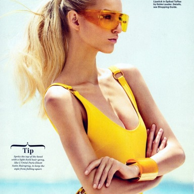 Michaela Kocianova by Sebastian Kim for Allure July 2013
