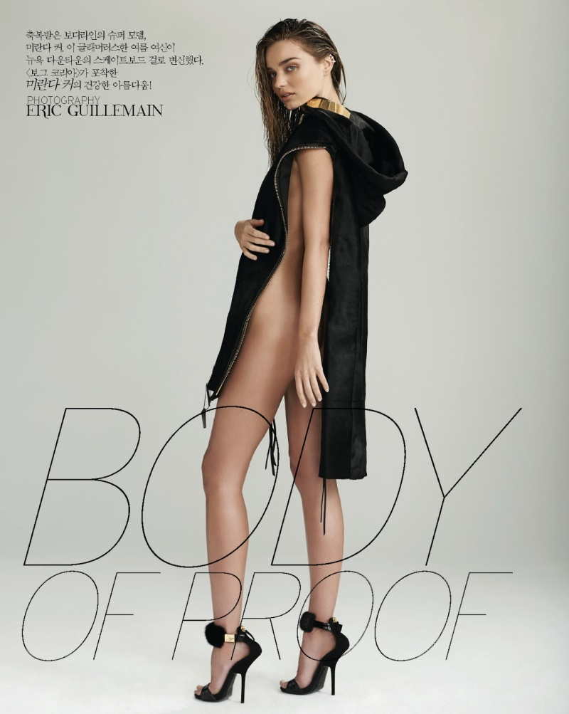 Miranda Kerr by Eric Guillemain for Vogue Korea July 2013