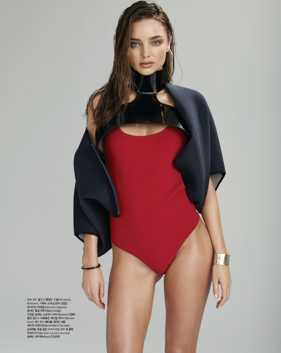 Miranda Kerr by Eric Guillemain for Vogue Korea July 2013