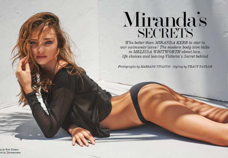 Miranda Kerr by Mariano Vivanco The Edit June 20, 2013