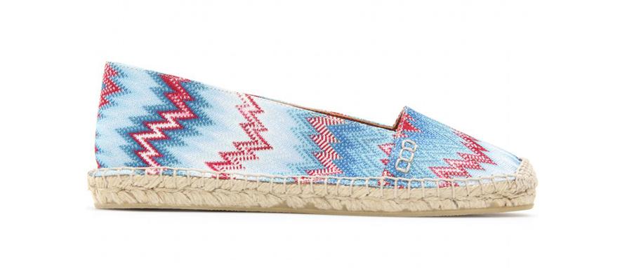 Missoni Cotton and rope Raschel espadrilles, €225