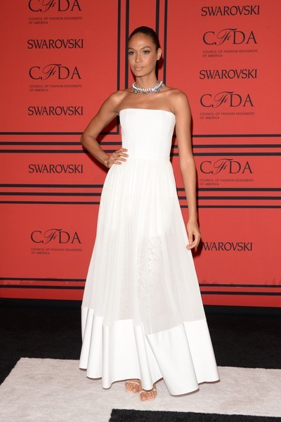 Model Joan Smalls attends the 2013 CFDA Fashion Awards on June 3, 2013 in New York, United States. (Photo by Andrew H. Walker/Getty Images)
