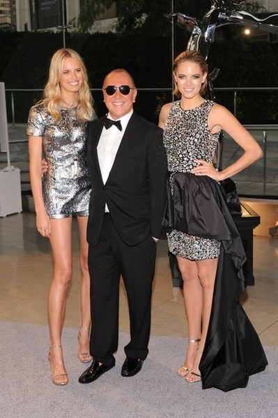Model Karolina Kurkova, designer Michael Kors and actress Cody Horn attend the 2013 CFDA Fashion Awards on June 3, 2013 in New York, United States. (Photo by Jamie McCarthy/Getty Images)