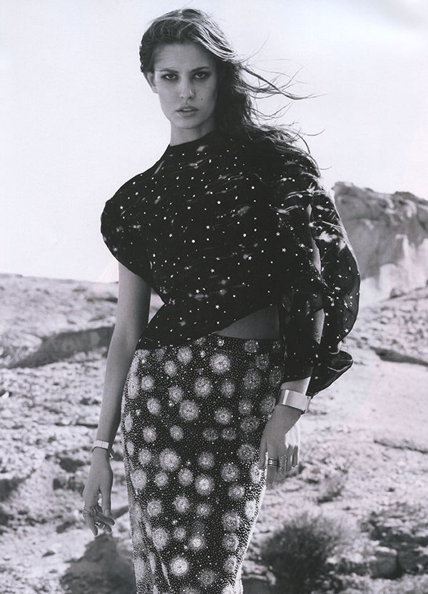 Nadja Bender by Jacob Sutton for Numéro #144 June/July 2013