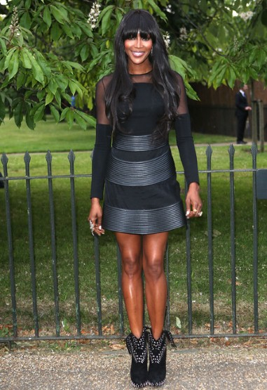 Naomi Campbell in David Koma