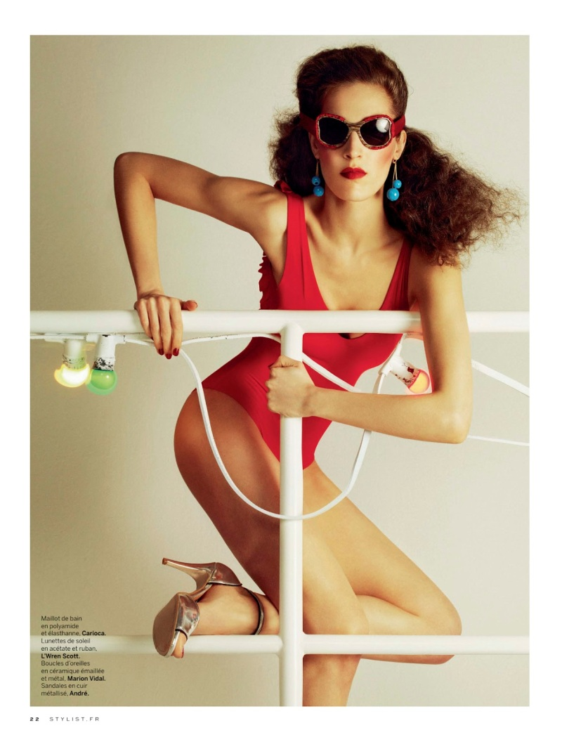 Othilia Simon By Nico For Stylist France #009 13Th June 2013