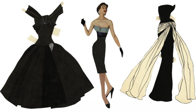 Paper Doll by Yves Saint Laurent