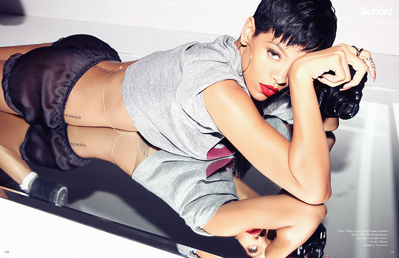 Rihanna by Zoe McConnell for Schön! Magazine