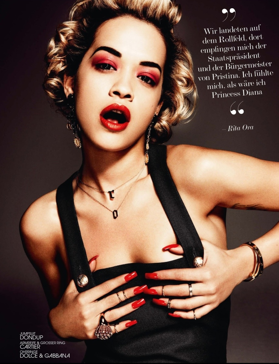 Rita Ora by Damon Baker for Interview Germany July/August 2013