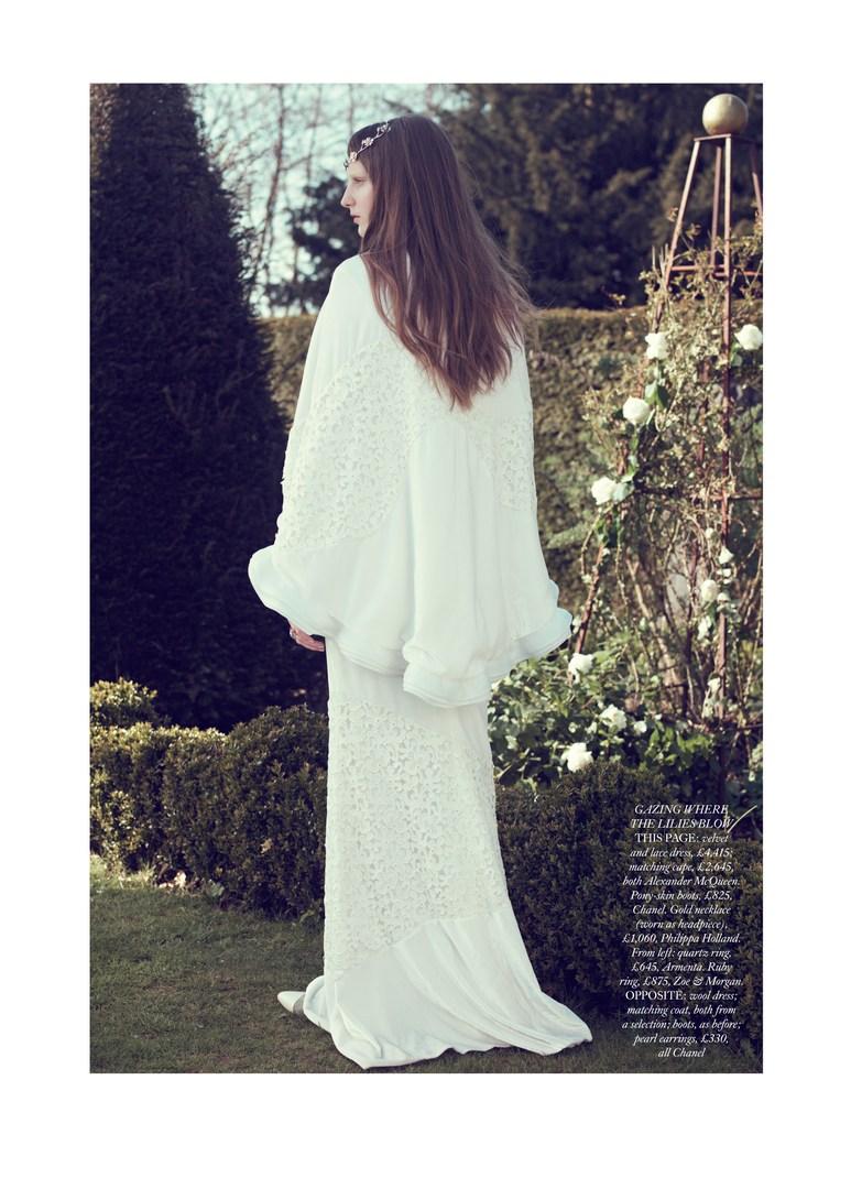 Ros Georgiou by Elena Rendina for Harper's Bazaar UK July 2013