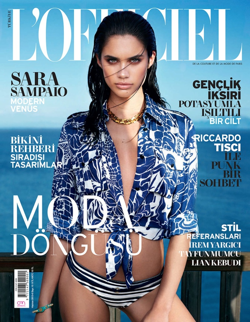 Sara Sampaio By Emre Doğru For L'Officiel Turkey June 2013