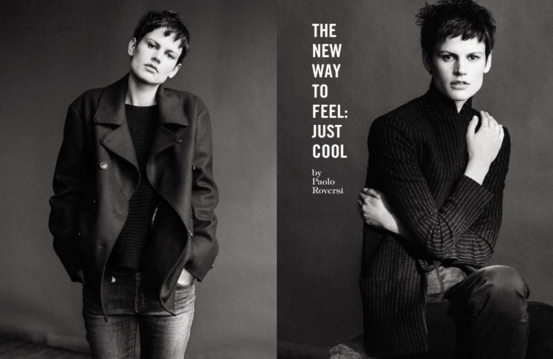 Saskia De Brauw by Paolo Roversi for Vogue Italia June 2013