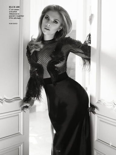 Scarlett Johansson by Mark Seliger for Vanity Fair France July 2013