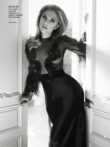 Scarlett Johansson by Mark Seliger for Vanity Fair France July 2013