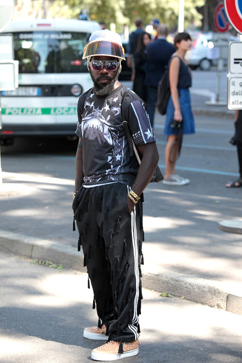 Street Style At Milan Menswear June 2013  Photo by Stefano Coletti