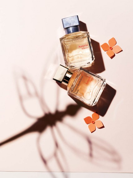 Maison Francis Kurkdjian Amyris is born from the encounter between the soft, luminous scent of a tree born under the Jamaican sun and the magical aura of an iris from Florence. Feminine and masculine, both inspired by the same flamboyant freshness. 2.4 oz. Femme $185. Homme $175.
