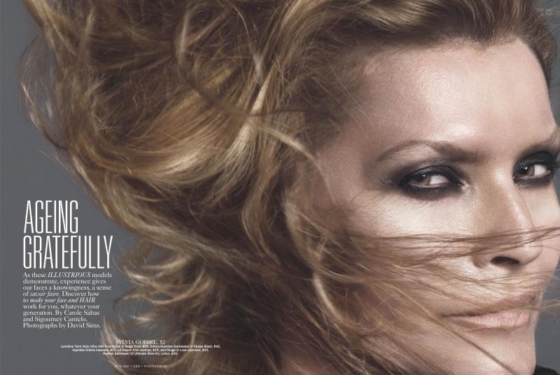Sylvia Gobel by David Sims for Vogue Australia July 2013
